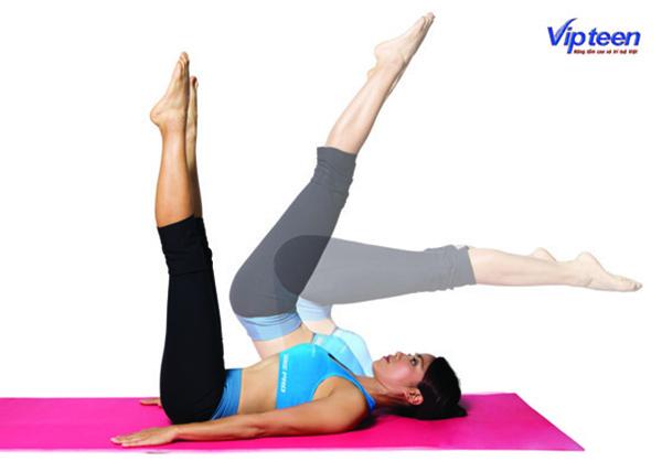 bài tập Pilates tăng chiều cao