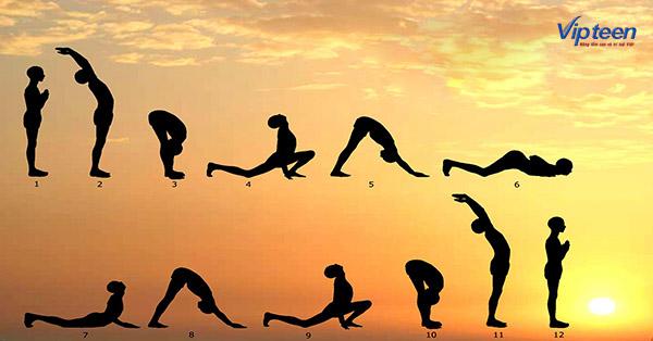 bài tập yoga Surya Namaskar
