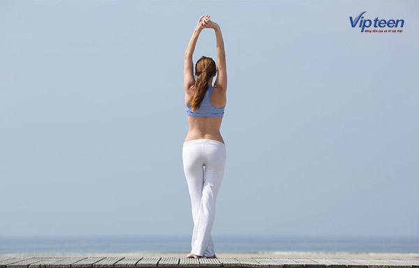 bài tập yoga Talasana