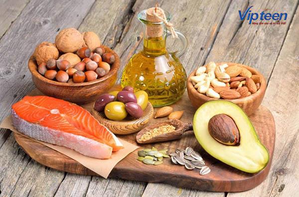 Thực phẩm giàu chất béo cho trẻ còi xương