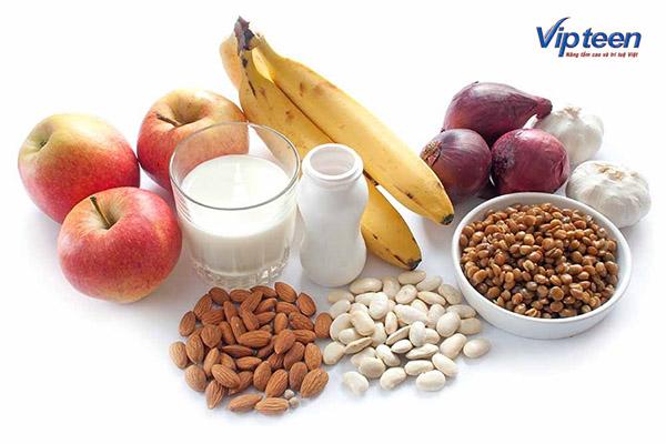 Thực phẩm giàu Probiotic và Prebiotic cho trẻ còi xương