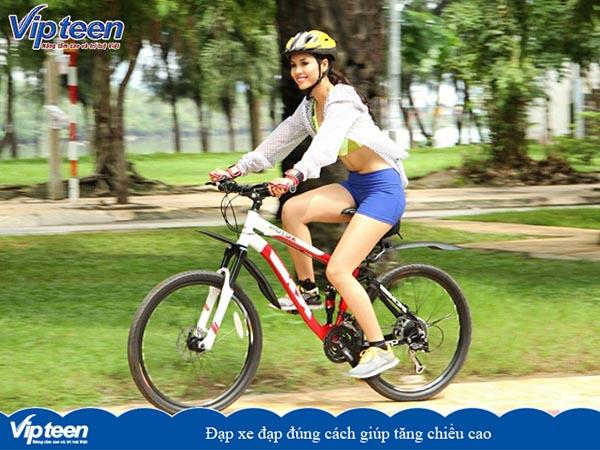 đạp xe tăng chiều cao