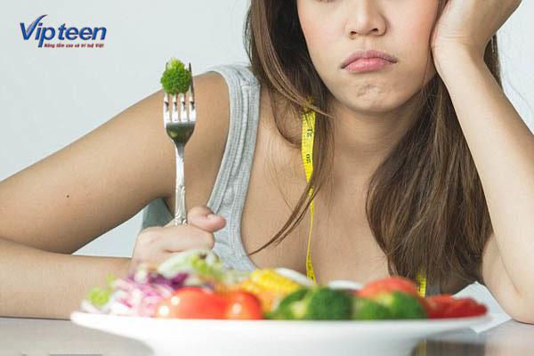 ăn kiêng gây còi xương ở tuổi thiếu niên