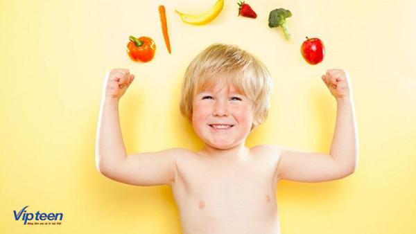 Tăng sức đề kháng cho trẻ còi xương thiếu máu