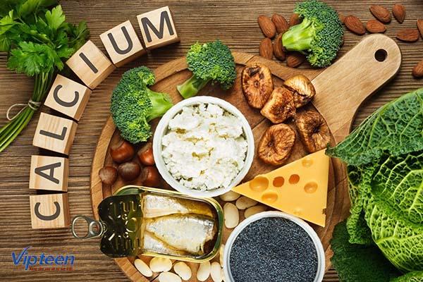 thực phẩm cho trẻ còi xương nhẹ