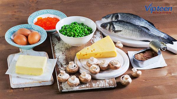 bổ sung thực phẩm phù hợp cho trẻ còi xương
