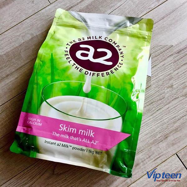 Sữa A2 giúp tăng chiều cao tuổi 18