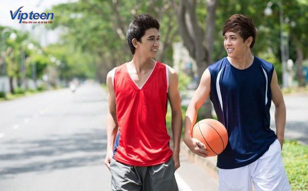 tập bóng rổ để tăng chiều cao tuổi 18