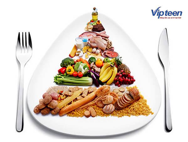 ăn đúng bữa giúp cải thiện chiều cao